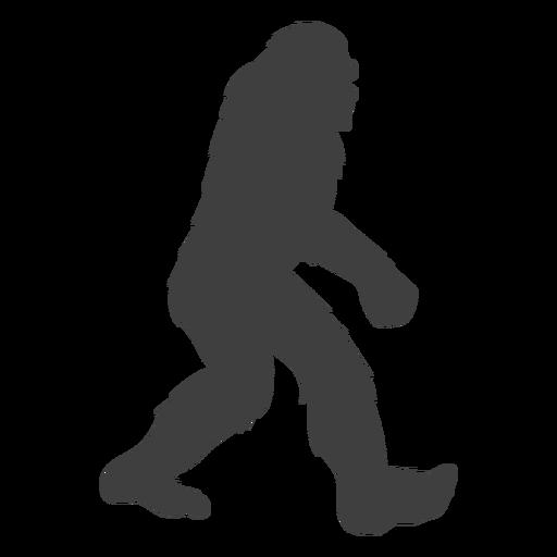 Big large creature bigfoot black Transparent PNG