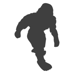 Bigfoot sasquatch criatura del folklore negro