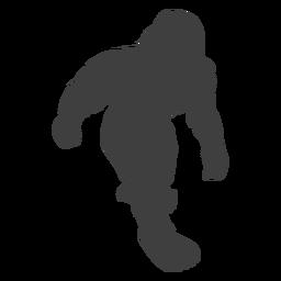 Bigfoot Sasquatch Folklore Kreatur schwarz