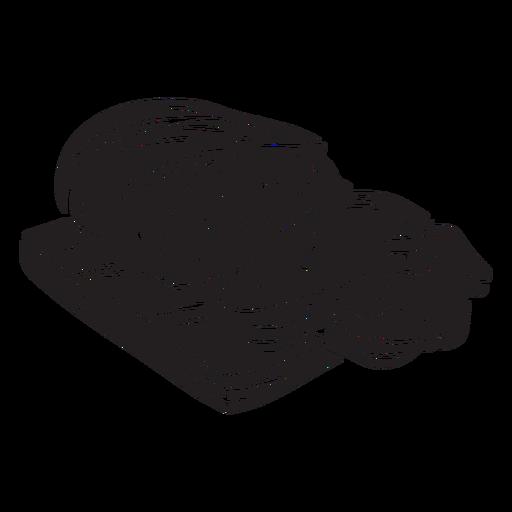 Pan comida centeno finlandés ilustración Transparent PNG