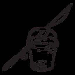 Curso de captura de pesca de vara de balde