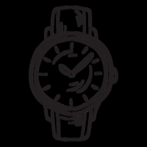 Reloj clásico accesorio trazo Transparent PNG