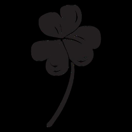 Trevo Trevo Preto Irlandes Baixar Png Svg Transparente