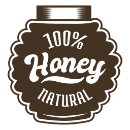 Container honey badge