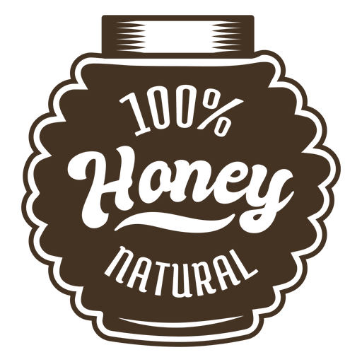 Container honey badge Transparent PNG