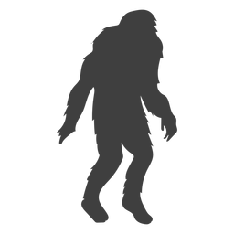 Creature monster mythical bigfoot black