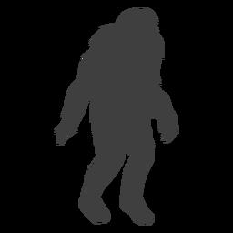 Kreatur Monster mythischen Bigfoot schwarz