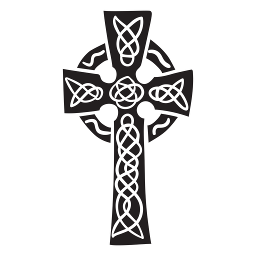 Cross celtic ireland black