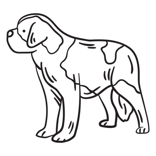 Dog breed stroke