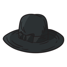 Fedora hat jewish illustration