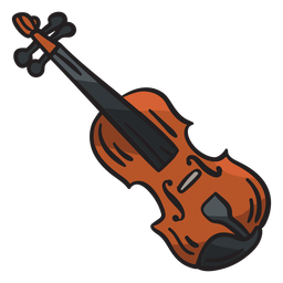 Fiddle ireland irish instrument illustration