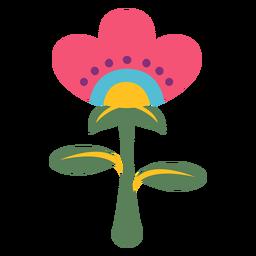 Blumenfestivalbetriebsmexiko-Illustration