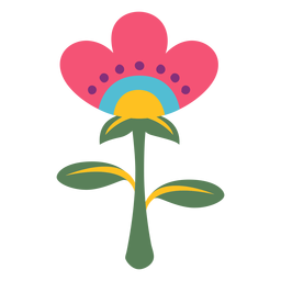 Flower festival plant mexico illustration