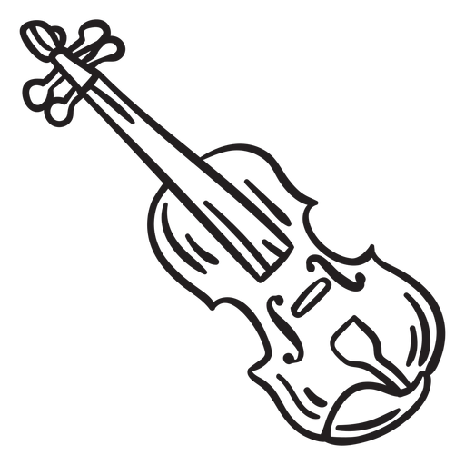 Folk music violin fiddle stroke