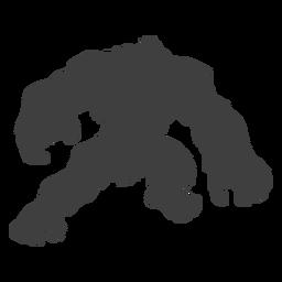 Criatura folclórica sasquatch preto