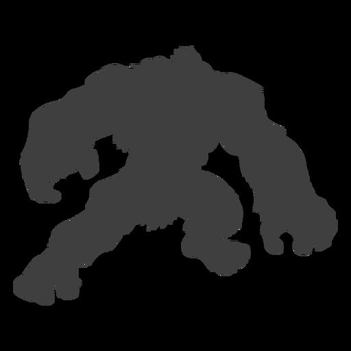 Folklore creature sasquatch black