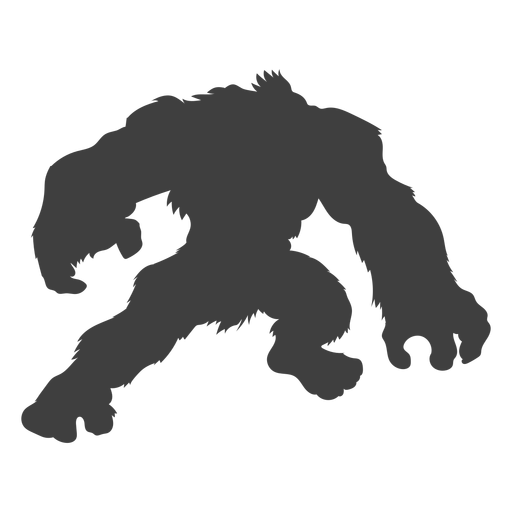 Folklore criatura sasquatch negro Transparent PNG