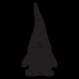Gnome schwarze Kreatur