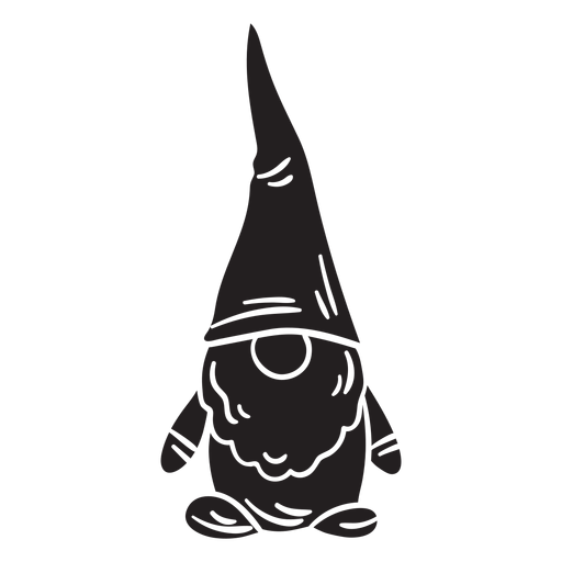 Gnome black creature Transparent PNG