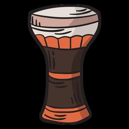 Becher Trommel Darbuka Abbildung