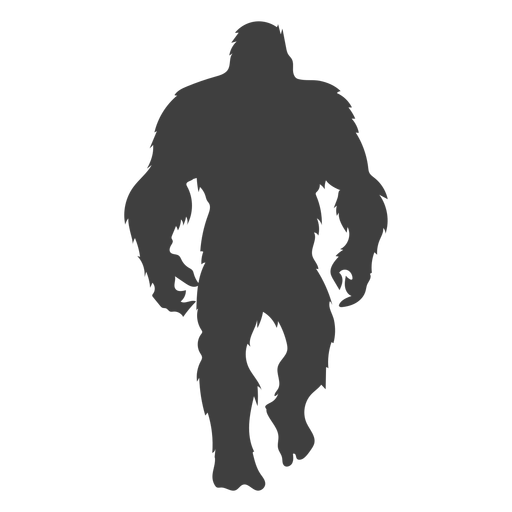 Peludo sasquatch bigfoot negro Transparent PNG