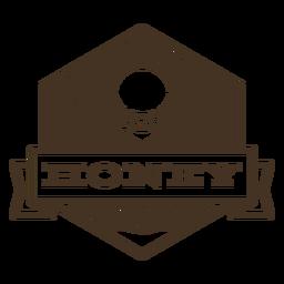 Insignia de alas de abeja de miel