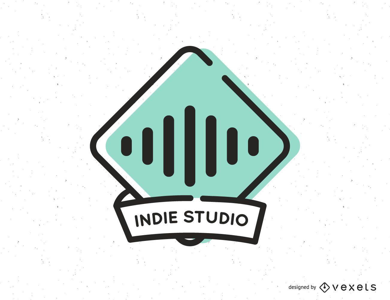 Music Studio Logo Design