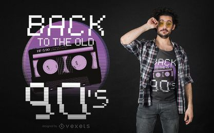 Volver al viejo diseño de camiseta de los 90