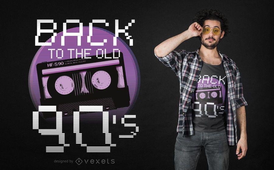 Back to old 90s t-shirt design