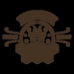Insignia de panal de miel de primera calidad