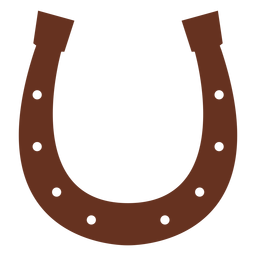 Horseshoe hoof horse illustration