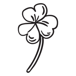 Curso de trevo de folha trindade sagrada