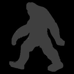 Monstruo criatura bestia bigfoot negro