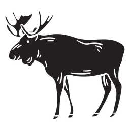Moose sweden native black