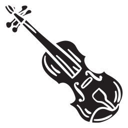 Musical instrument fiddle irish black