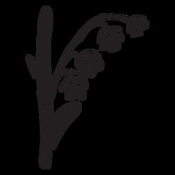 Ilustração nacional da Finlândia flor