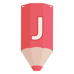 Bleistift Alphabet j Banner