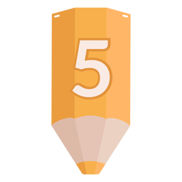 Bleistift Nummer 5 Banner