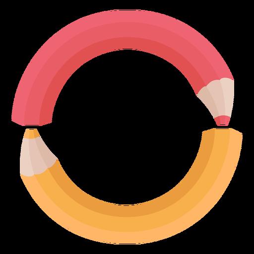 Alfabeto de decoração de lápis o Transparent PNG