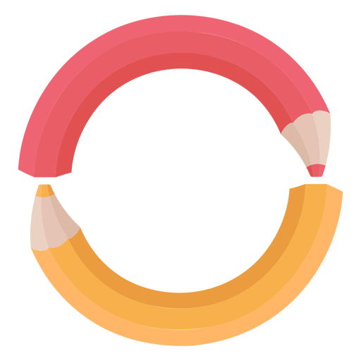 Lápices decoración alfabeto o Transparent PNG