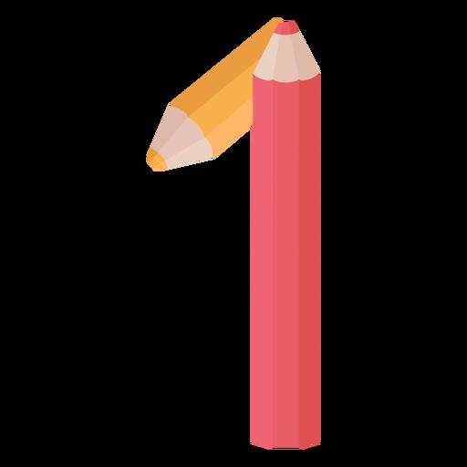 Pencils decor number 1 Transparent PNG