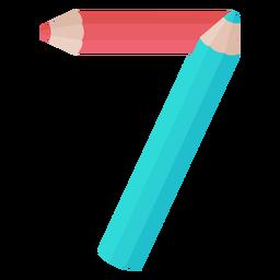 Pencils decor number 7
