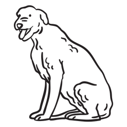 Animal doméstico perro terrier golpe
