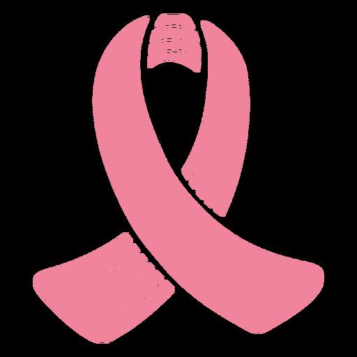 Icono de conciencia de cáncer de cinta rosa