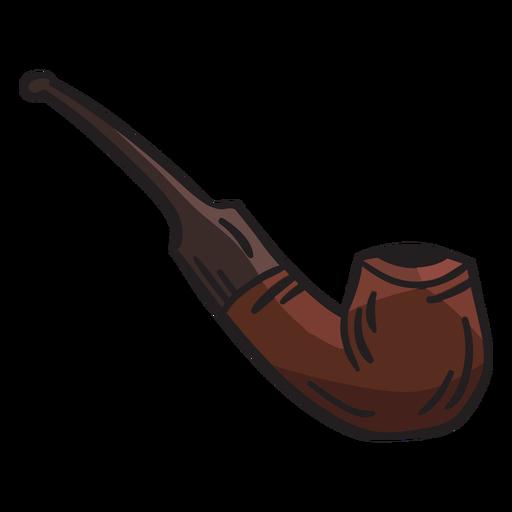 Pipe smoking tobacco ireland illustration
