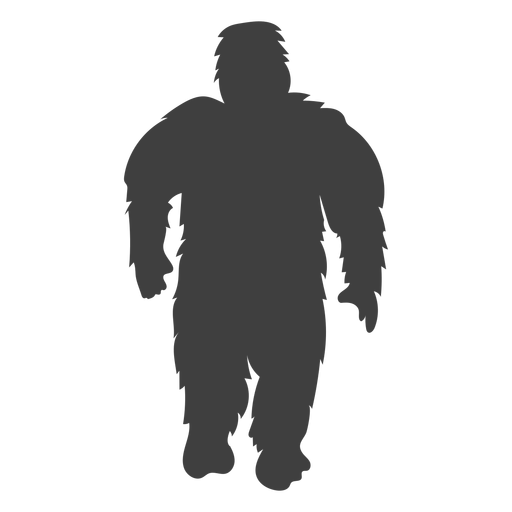 Sasquatch folklore bigfoot negro Transparent PNG