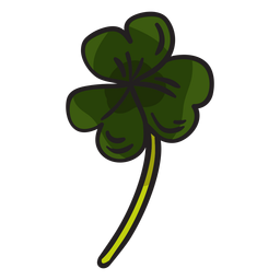 Shamrock clover irish leaves illustration