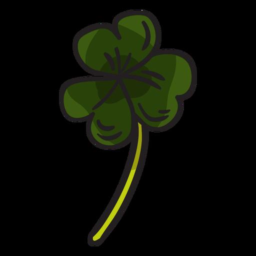 Ilustraci?n de hojas de tr?bol de tr?bol irland?s