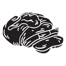Pão refrigerante assando comida preta