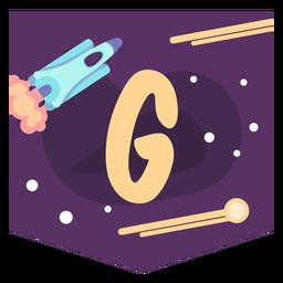 Espacio alfabeto g banner